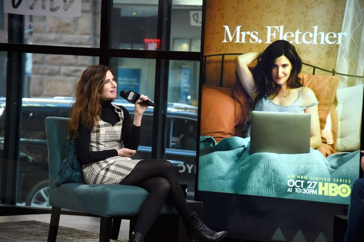 "Kathryn Hahn visits the Build Series to discuss her HBO show ""Mrs. Fletcher"" in October."
