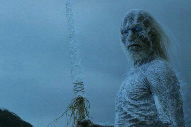 Un caminante blanco de la serie 'Juego de Tronos', una especie vulnerable al