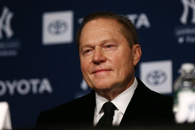 NEW YORK, NEW YORK - DECEMBER 18: Sports Agents Scott Boras looks on during the New York Yankees press...