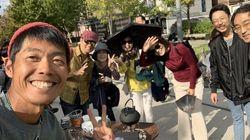 한국인의 마음을 알고 싶어 무료 커피 나눔을 한 일본인