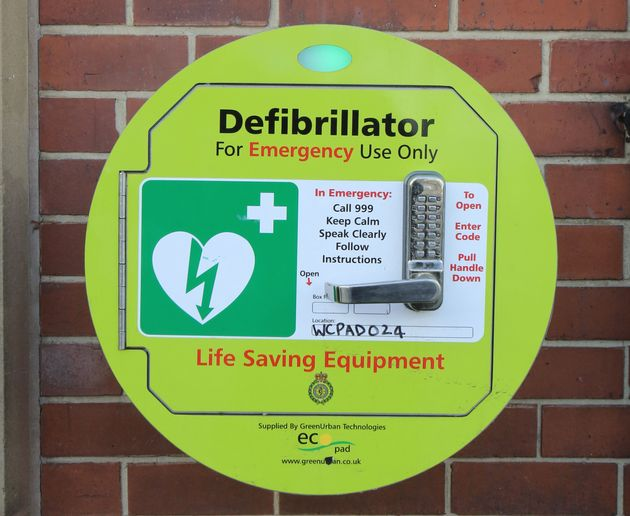 The use of a defibrillator on a patient suffering cardiac arrestcan produce survival rates as high...