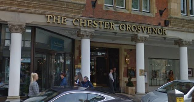 The Chester Grosvenor Hotel has publicly apologised after the