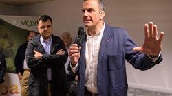 Ortega Smith anuncia que Vox no va a apoyar los presupuestos en el Ayuntamiento de