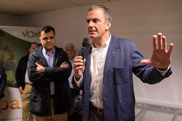 El secretario general de Vox y diputado por Madrid en el Congreso de los diputados, Javier Ortega
