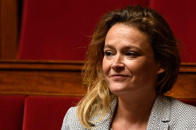 Olivia Grégoire, députée LREM, à l'Assemblée nationale, mai