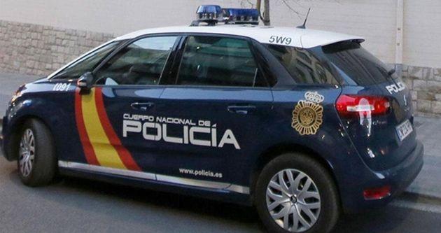 Un coche de la Policía Nacional, en una imagen de