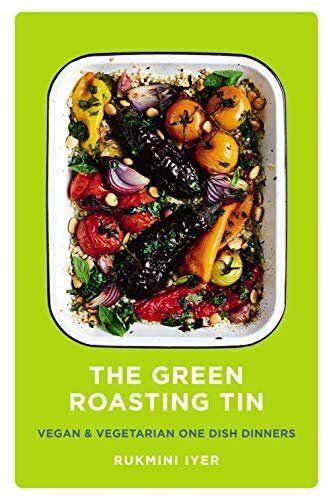"<a href=""https://amzn.to/2MmvpM6"" target=""_blank"" role=""link"" class="" js-entry-link cet-external-link"" data-vars-item-name=""The Green Roasting Tin: Vegan and Vegetarian One Dish Dinners by Rukmini Iyer, Amazon,"" data-vars-item-type=""text"" data-vars-unit-name=""5e00b82de4b05b08bab84d5d"" data-vars-unit-type=""buzz_body"" data-vars-target-content-id=""https://amzn.to/2MmvpM6"" data-vars-target-content-type=""url"" data-vars-type=""web_external_link"">The Green Roasting Tin: Vegan and Vegetarian One Dish Dinners by Rukmini Iyer, Amazon,</a> £7"