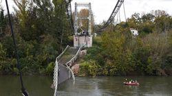 Une information judiciaire ouverte après l'effondrement mortel d'un pont près de
