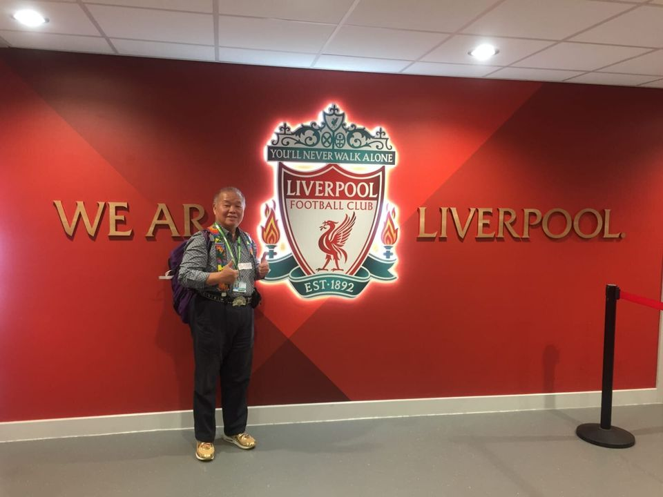Sam has lived in Liverpool for almost three