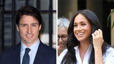 Justin Trudeau Χαιρετίζει Τη Μέγκαν, Ο Χάρι Και Ο Archie Στον Καναδά Με Απλό Μήνυμα