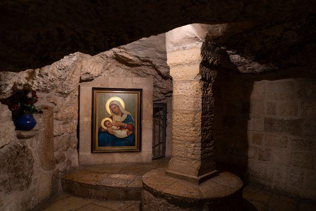 La capilla de la Gruta de la Leche en
