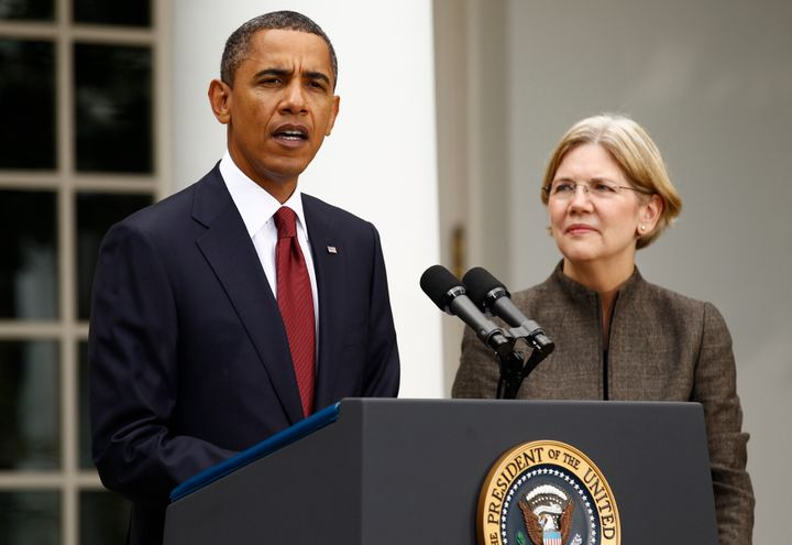 Sen. Elizabeth Warren (D-Mass.) served as a special adviser on former President Barack Obama's Consumer Financial Protection