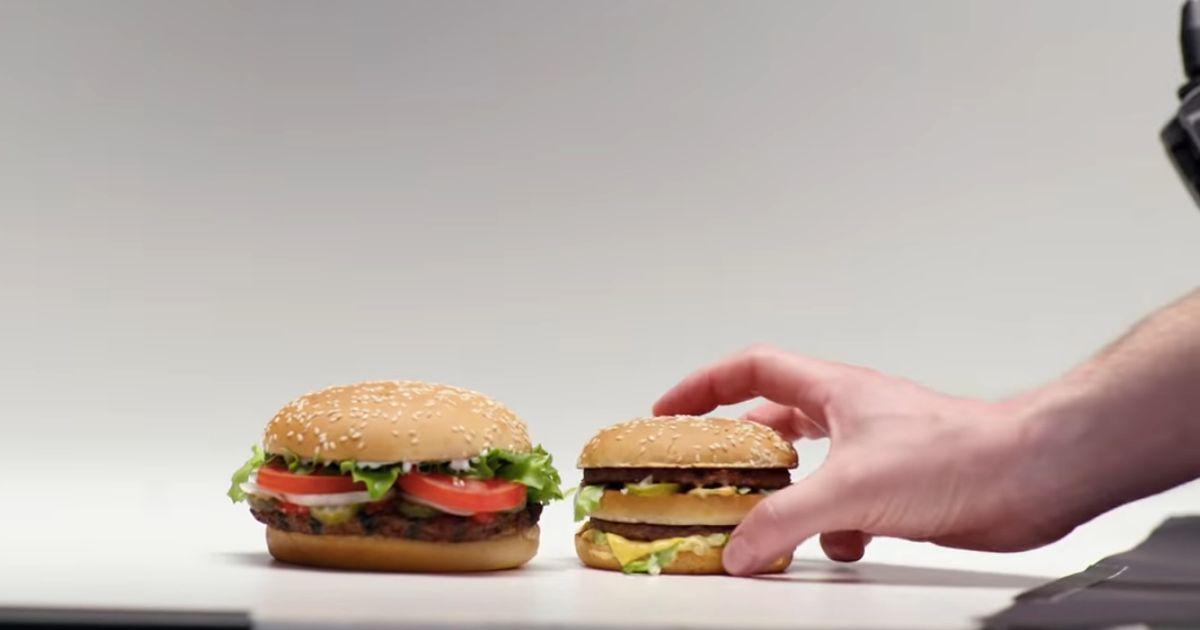 Burger King s'est moqué de McDonald's tout 2019 sur ses publicités en Grande-Bretagne