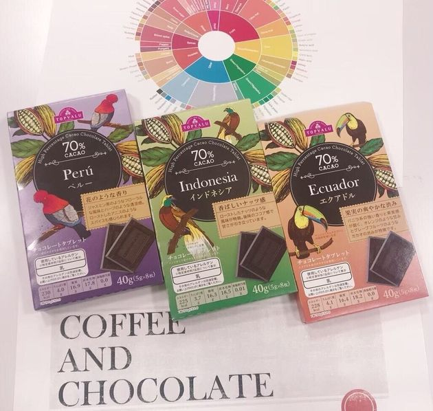 コーヒー×チョコレート研究