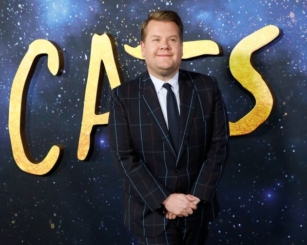 James Corden attends the world premiere of Cats in New