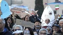 Le Sardine, il falso internazionalismo della sinistra e il tuffo nell'oceano