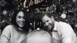 Un primer plano de Archie: la genial felicitación de Navidad del príncipe Enrique y Meghan