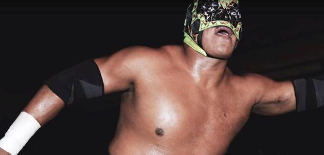 El luchador mexicano Mr.