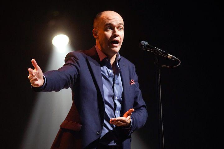 L'humoriste Guy Nantel (photo d'archives)