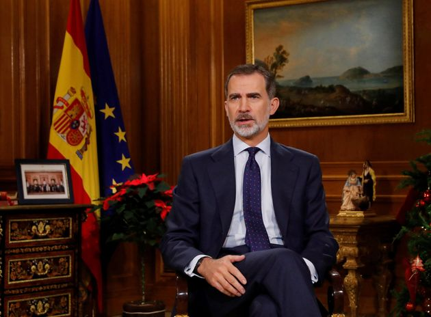Felipe VI, en un momento del