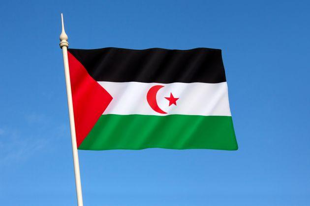 Bandera de la República Árabe Saharaui