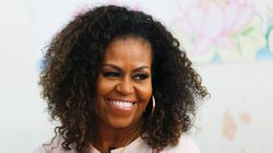Michelle Obama Shares Their Family Christmas Card, Complete With Paw