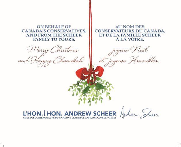 Inside Scheer's Christmas
