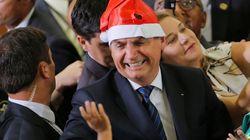 Em pronunciamento de Natal, Bolsonaro comemora economia e diz que terminou 2019 'sem denúncia de