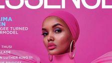 Halimaアデンでは初の黒人女性のヘジャブに恵みをカバーの本質雑誌