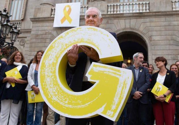 El presidente del grupo municipal de ERC en el Ayuntamiento de Barcelona, Ernest