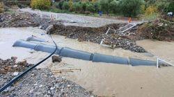 Πάφος: Κατάρρευση υπό κατασκευής γέφυρας λόγω παρατεταμένης