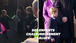 George et Charlotte ont volé la vedette au reste de la famille royale à la messe de