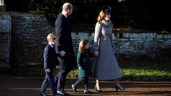 Royal Kids Make Their Christmas Service Debut With Hugs And