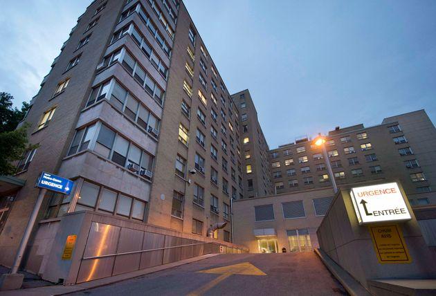 Hôpital Notre-Dame, à Montréal (photo