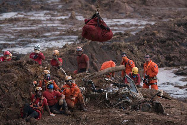 A tragédia em Brumadinho deixou pelo menos 259 mortos. Ainda há 11