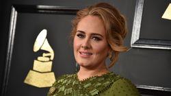 Pour Noël, Adele avait invité le Père Noël et le
