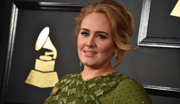 Adele a vu double pour le réveillon de