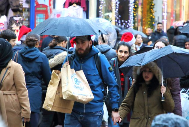 Boxing Day Weather: Sales Shoppers Face Heavy Rain Across Parts Of The UK