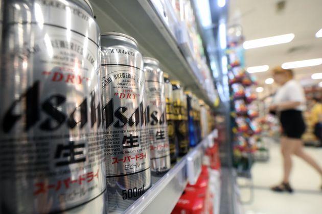 11월 일본 맥주의 한국 수출량이 아주 소폭