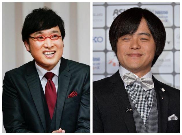 山里亮太さん(左)とバカリズムさん(右)
