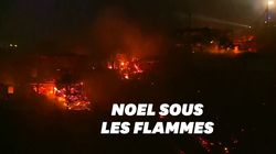 Au Chili, un incendie a ravagé 245 maisons à Valparaiso à l'aube des