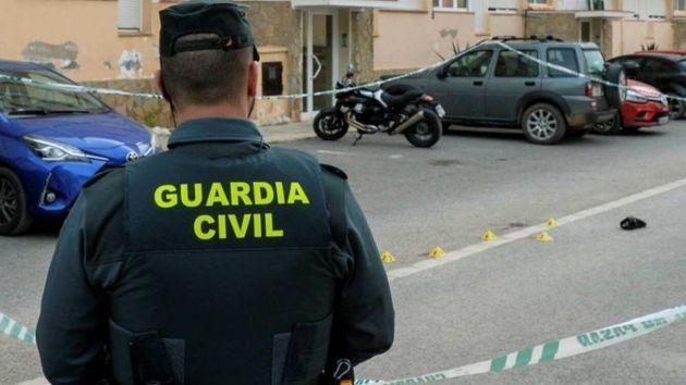 Un guardia civil, en una imagen de