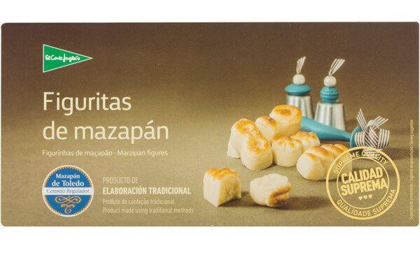 Figuritas de mazapán de El Corte Inglés.