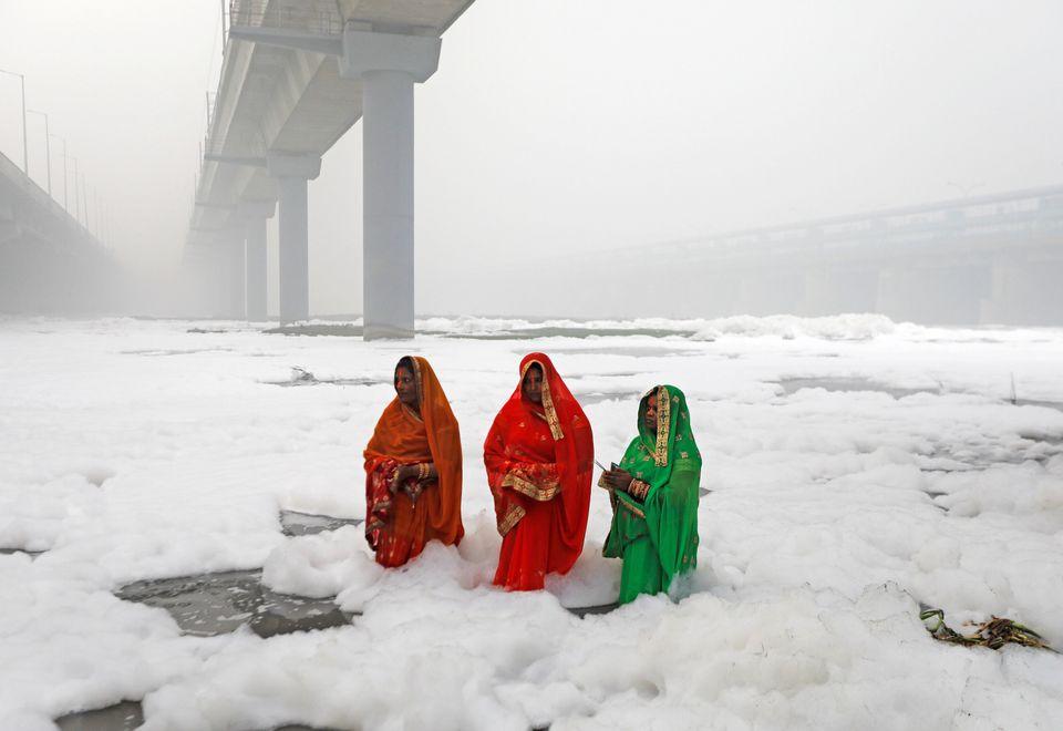 Οι γυναίκες της ινδουιστικής...