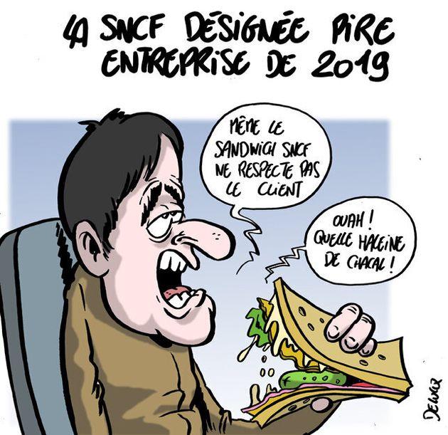 SNCF, désignée pire des