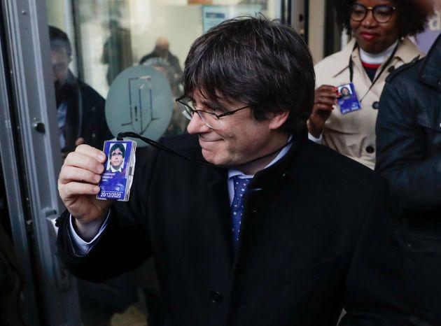 El expresidente de la Generalitat Carles