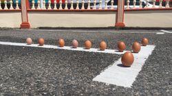 Το πείραμα του όρθιου αυγού έγινε viral χάρη στην έκλειψη του