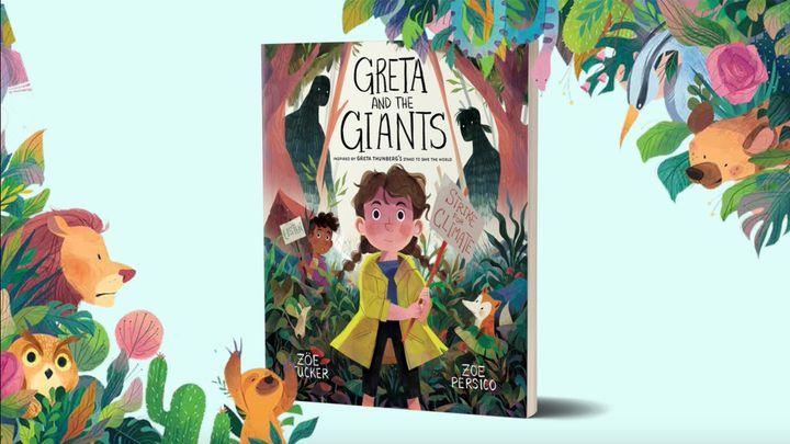 Intitulado de <i>Greta e os Gigantes</i>, o livro, que tem 32 p&aacute;ginas, foi escrito por Zoe Tucker e ilustrado por Zoe Persico.