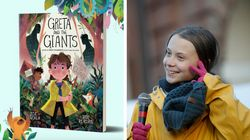 A jovem ativista Greta Thunberg vira personagem de conto de fadas