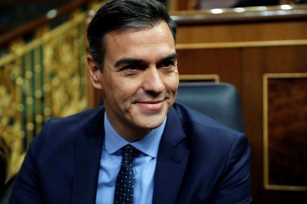 El presidente del Gobierno en funciones Pedro Sánchez. EFE/Emilio